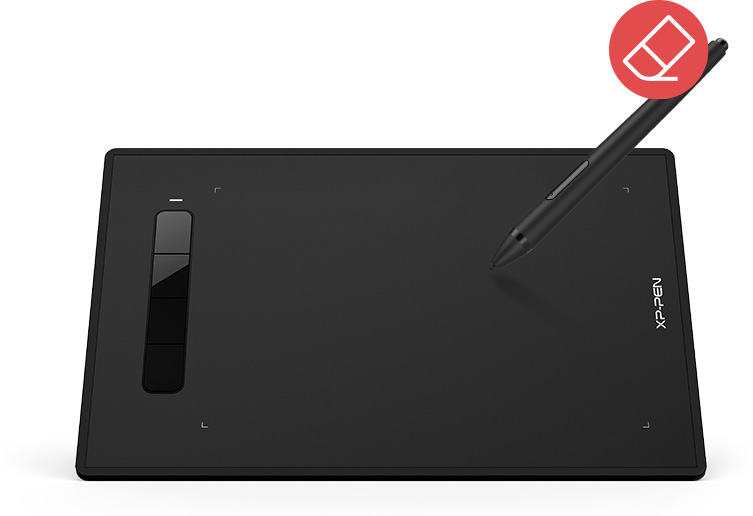XP-Pen Star G960S tablet Including the PH3 battery-free stylus